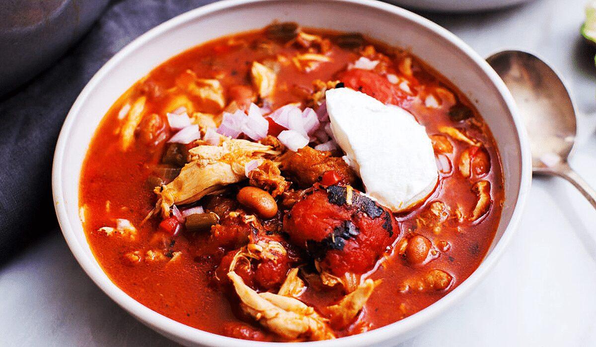Chipotle Chicken Chorizo Chili_Hero