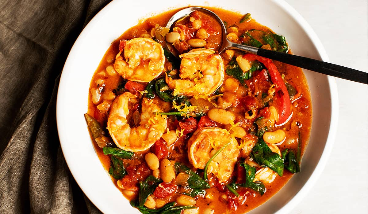 One-Pot Spicy Shrimp and Beans_Hero