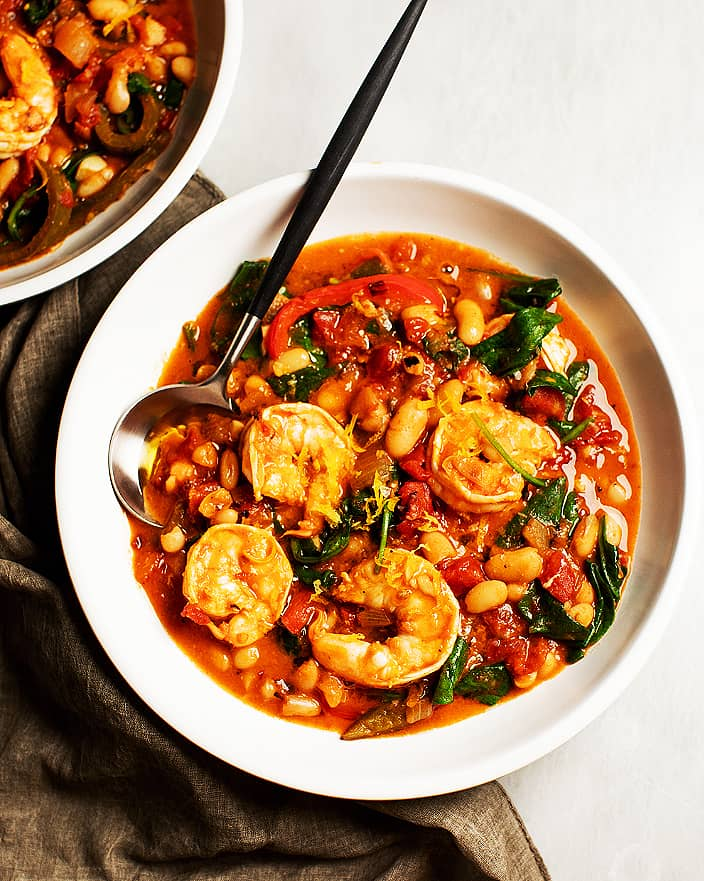 One-Pot Spicy Shrimp and Beans_MidPage – 1