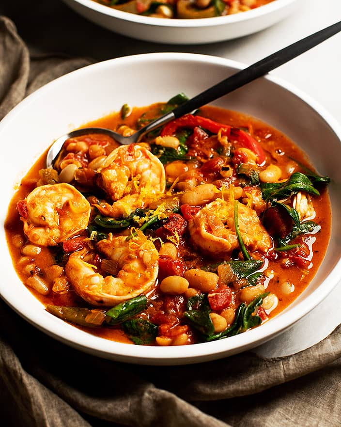 One-Pot Spicy Shrimp and Beans_MidPage