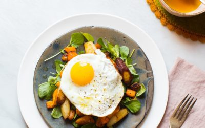 Roasted Root Vegetable Breakfast Hash
