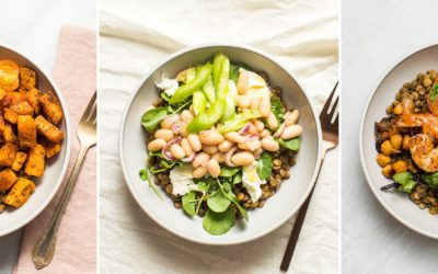 Three Lentil Salad Recipes to Get You Through Breakfast, Lunch, and Dinner