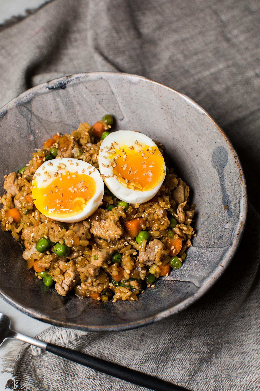 Easy Pork Fried Rice Recipe