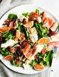 Fig and Prosciutto Salad with Mozzarella (3 of 4) 2