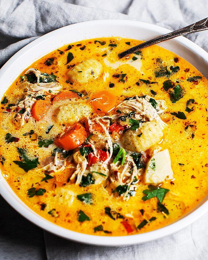 Easy Creamy Chicken Gnocchi Soup_MidPage