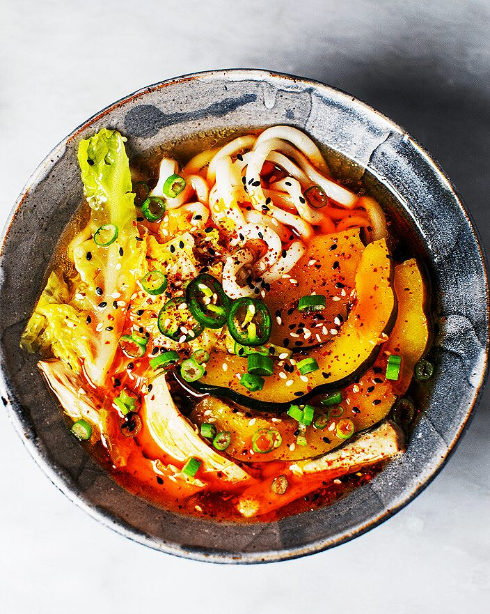 Chicken Udon Soup with Acorn Squash and Napa Cabbage_MidPage – 1