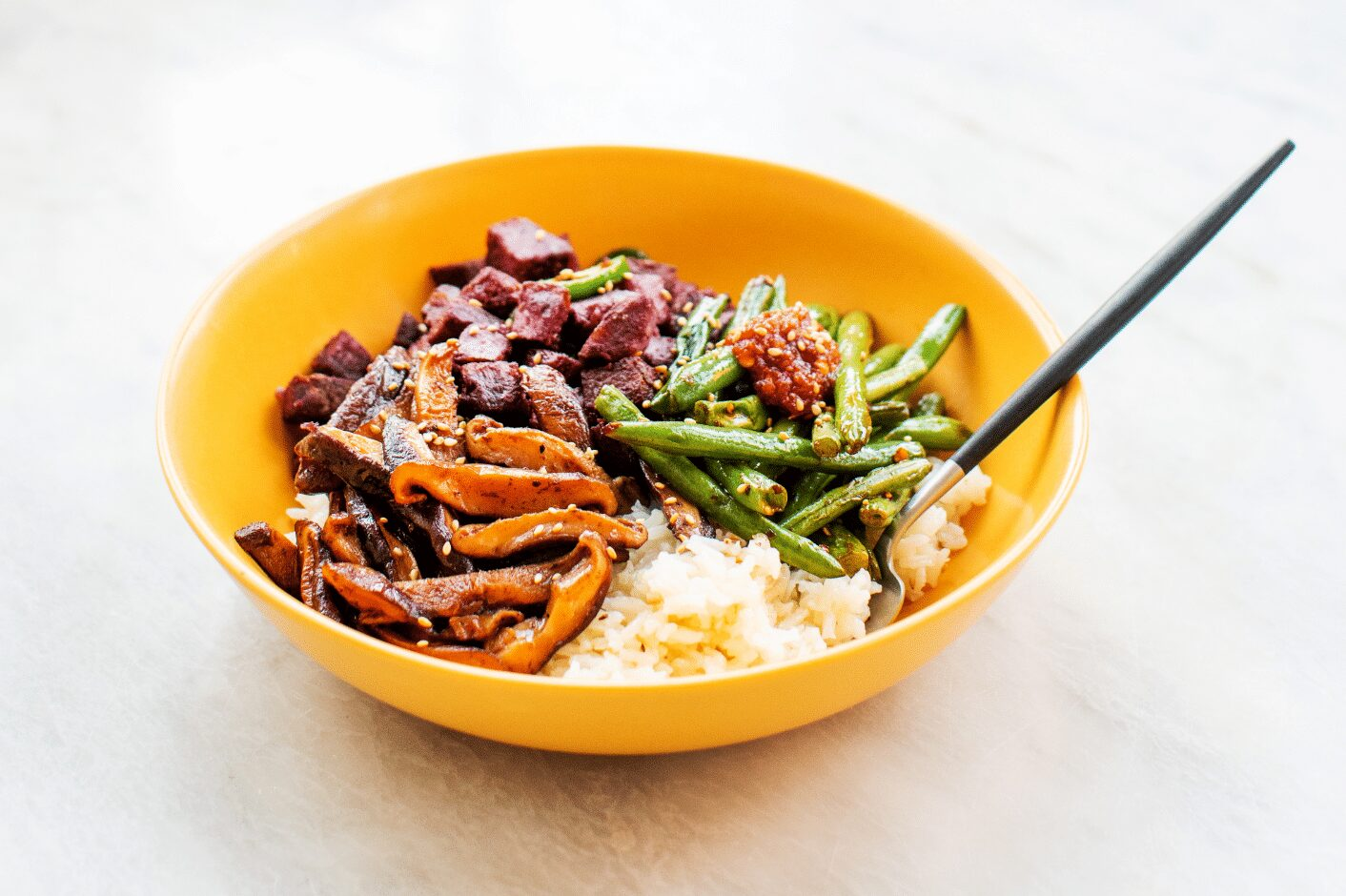 Chinese Five Spice Rice Bowls with Vegetables