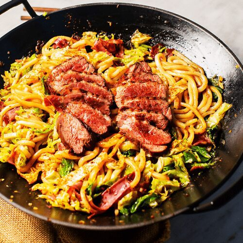 Easy Spicy Duck Yaki Udon_MidPage – 1