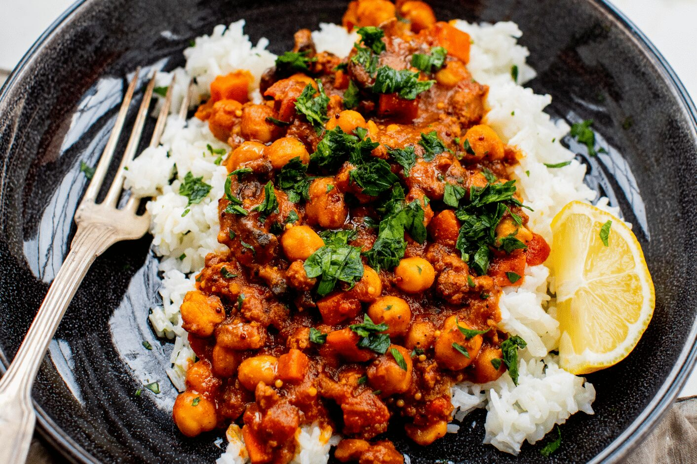 Stewed Chickpeas and Ground Meat_Hero