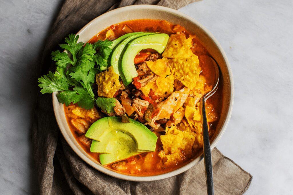 Spicy Chicken Tortilla Soup_Hero