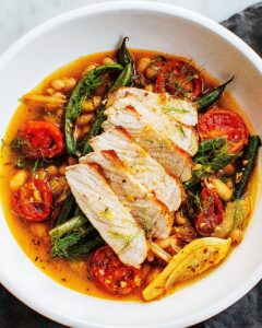 pork and green beans in fennel-tomato broth_MidPage