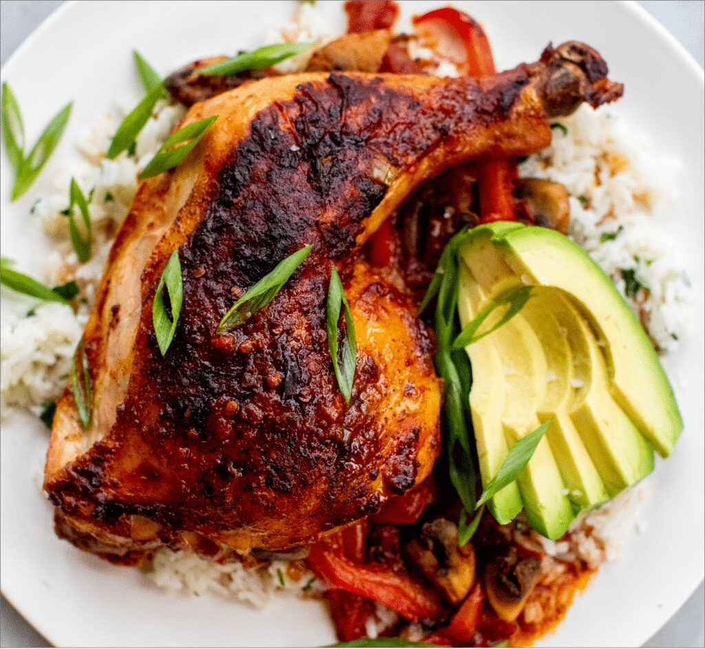 Honey-Chipotle Chicken and Rice_MidPage