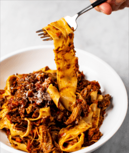Homemade Pappardelle Pasta with Meat Ragu_MidPage