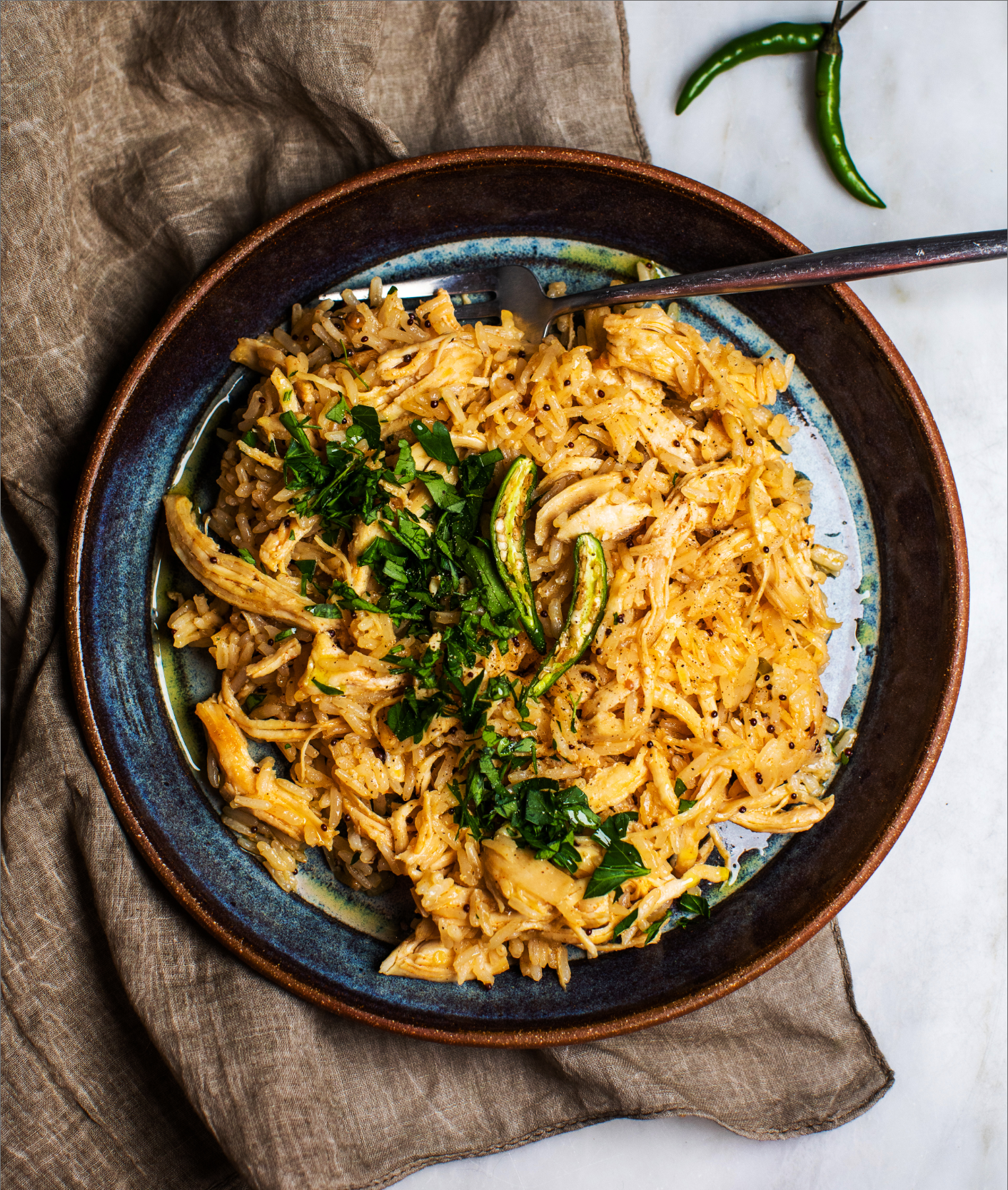 One-Skillet Spicy Chicken and Rice_MidPage