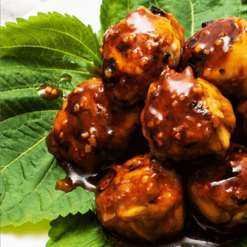 Crab and Pork Meatballs with Sweet and Spicy Sauce_MidPage