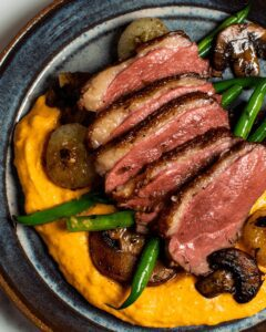 Perfectly Seared Duck Breast with Cipollini Onions_MidPage