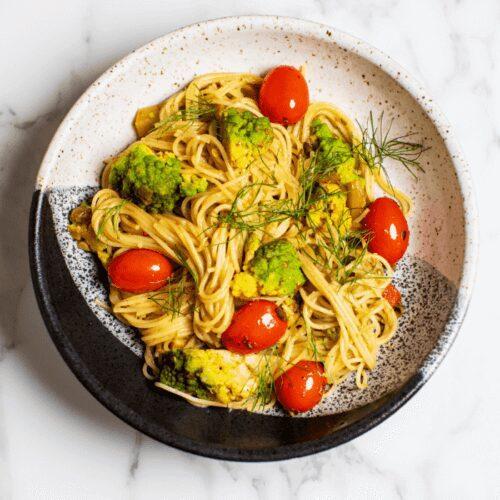 Pasta with Romanesco and Fennel_Hero