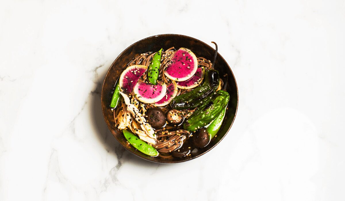 Chicken Soba with Vegetables_Hero