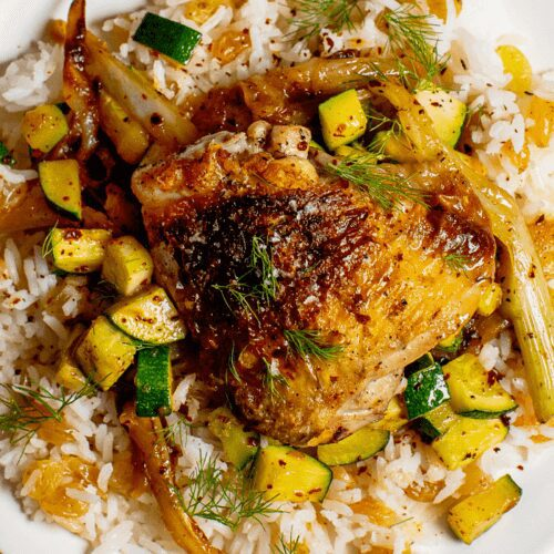 Chicken with Rice and Vegetables_Hero