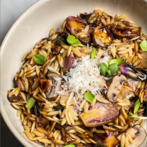 Balsamic Orzo with Mushrooms_MidPage
