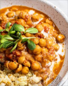 Thai Red Curry Chickpeas with Coconut Cream_MidPage