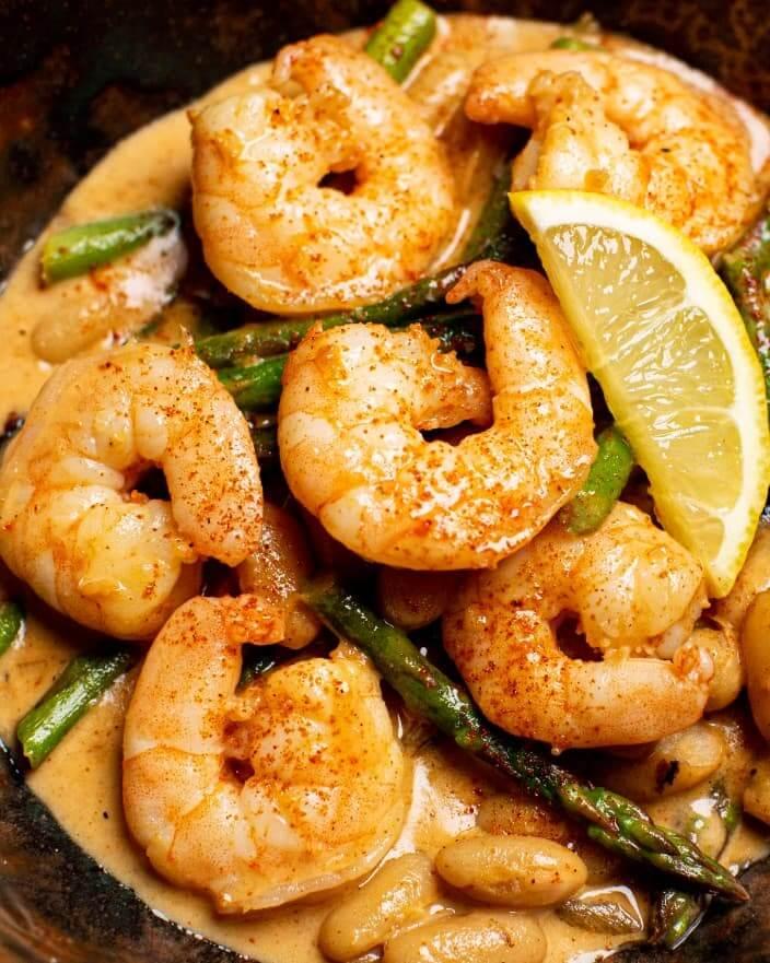 Creamy Shrimp and Asparagus_MidPage
