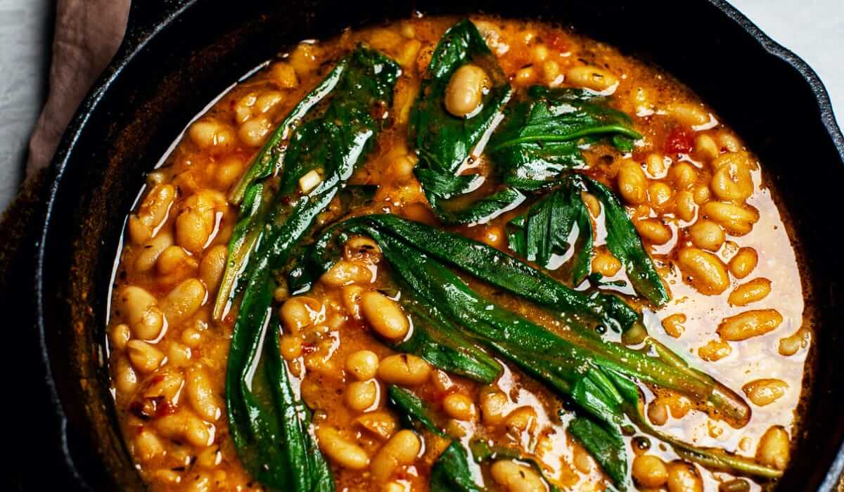 Brothy Beans and Ramps_Hero