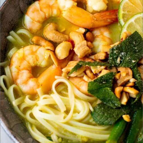 Green Curry Shrimp and Green Beans_MidPage