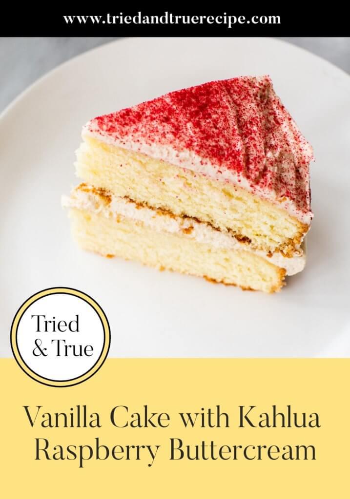Vanilla Cake with Kahlua Raspberry Buttercream_Pinterest