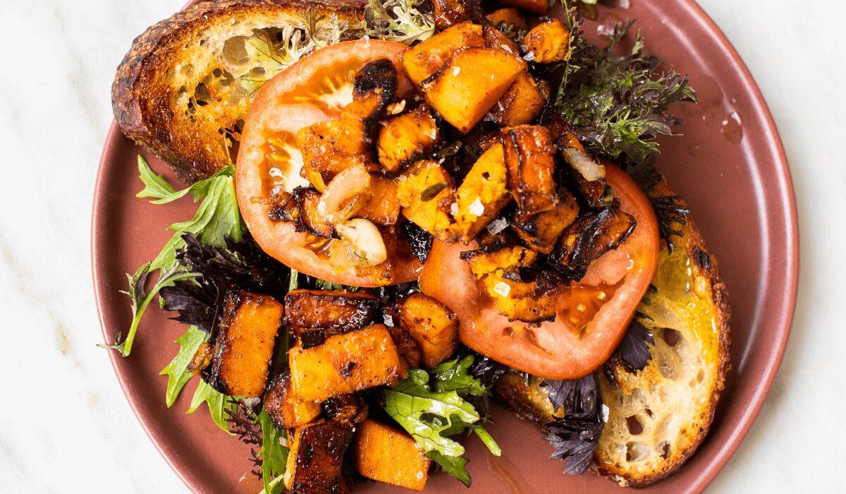 Sourdough Toast with Sweet Potatoes_Hero
