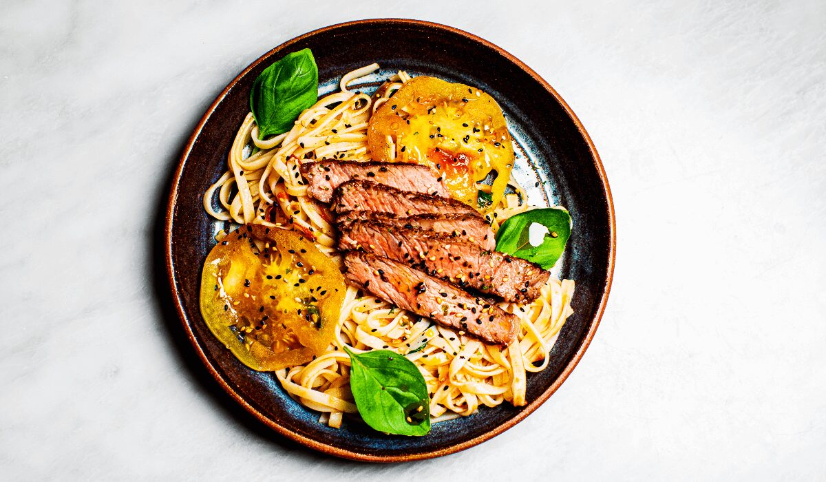 Steak and Rice Noodle Bowl_Hero