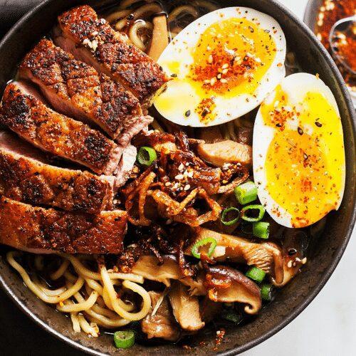 Crispy-Duck-Ramen-with-Porcini-Mushrooms_MidPage