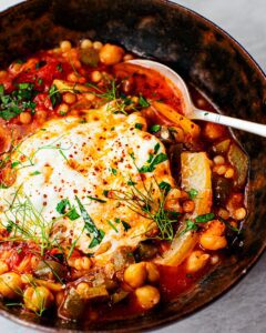 Simple Stewed Chickpeas with Fennel_MidPage
