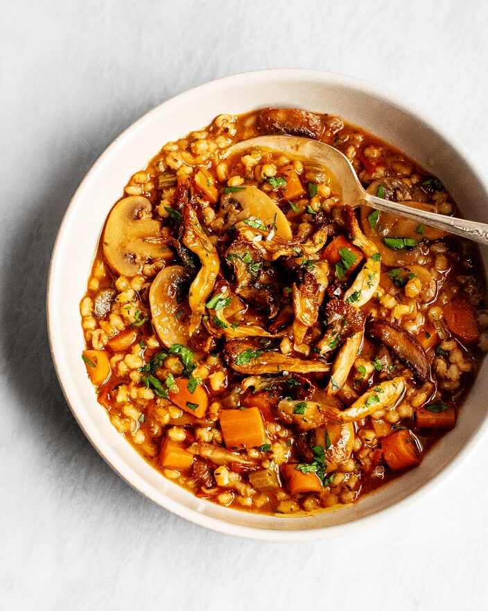 Easy Mushroom Barley Stew_MidPage – 1