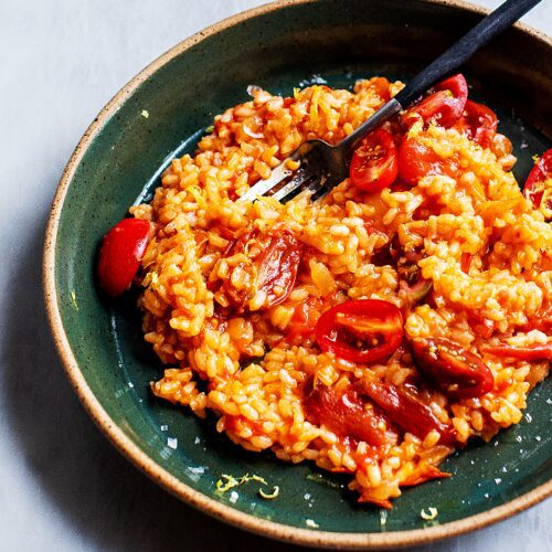 Easy Tomato Risotto with Parmesan_MidPage – 1