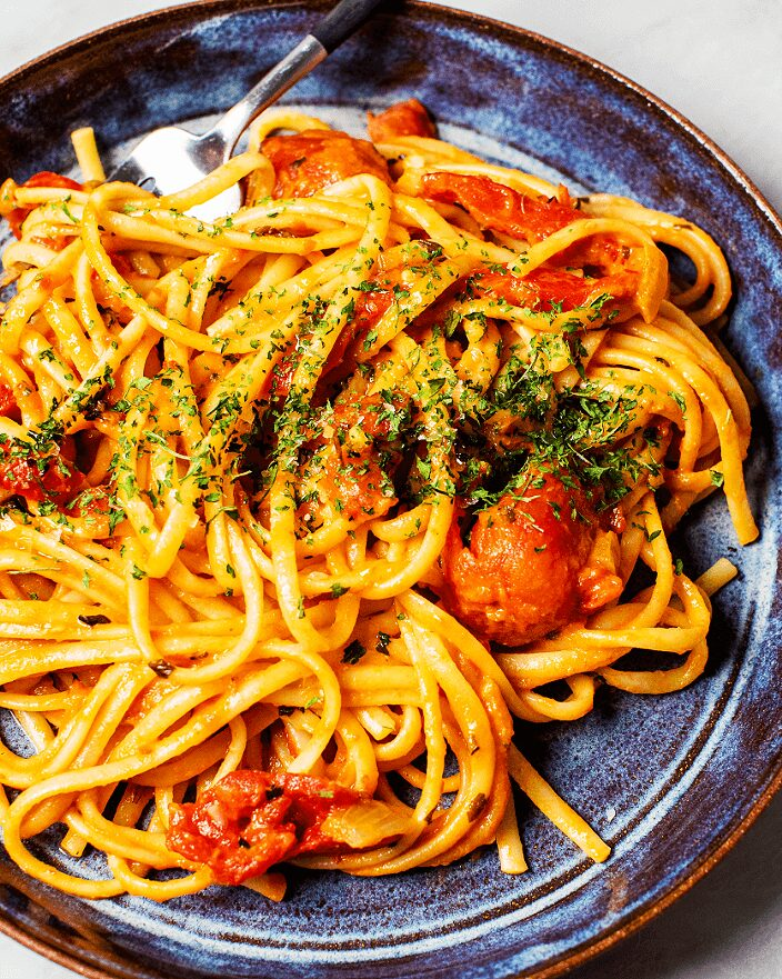 Creamy Roasted Red Pepper Pasta_MidPage