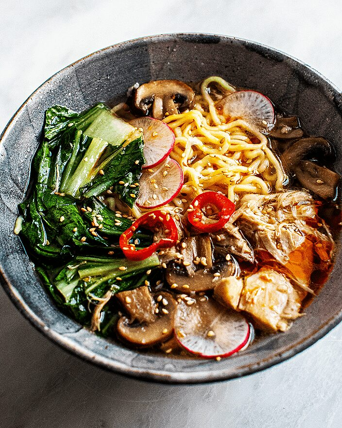 Easy Chicken and Vegetable Ramen_MidPage