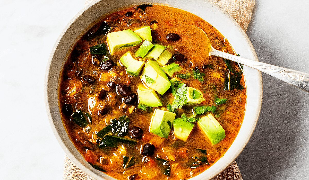 Spicy Black Bean Soup_Hero