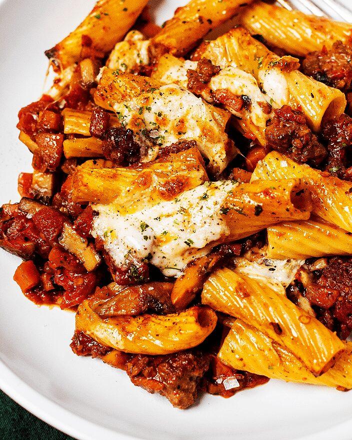 Spicy Mushroom-Sausage Ragù_MidPage – 1