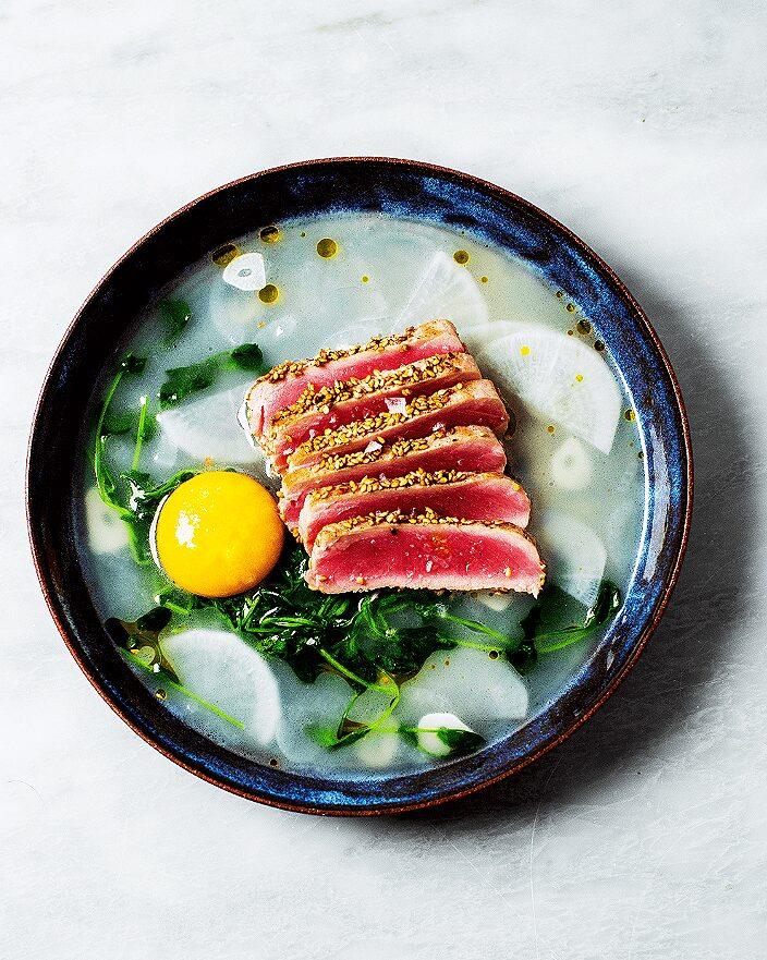 Tuna in Wasabi Pea Broth_MidPage – 1
