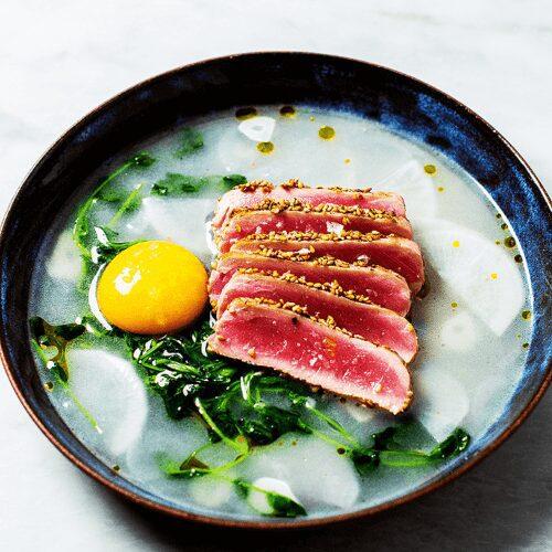 Tuna in Wasabi Pea Broth_MidPage