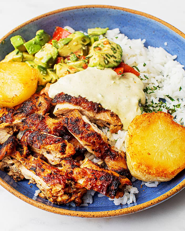 Peruvian Dinner Recipe-Peruvian Chicken Bowl with Potatoes_MidPage – 1