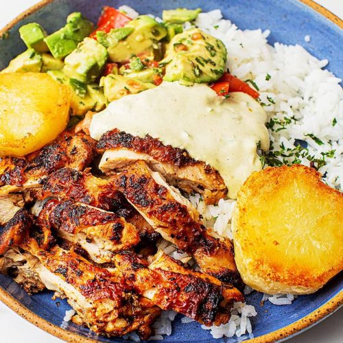 Easy Dinner Recipes Peruvian-Chicken-Bowl-with-Potatoes_MidPage-–-1