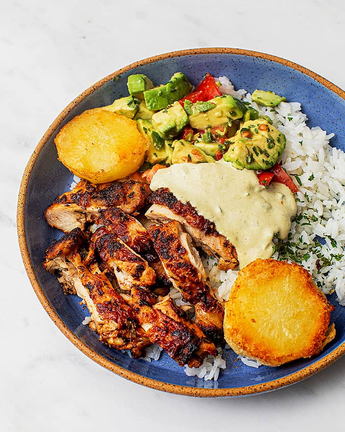 Peruvian Chicken Bowl with Potatoes_MidPage
