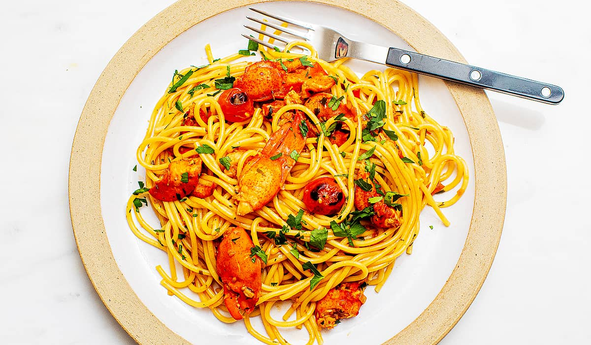 Spicy Lobster Pasta Recipe_Hero