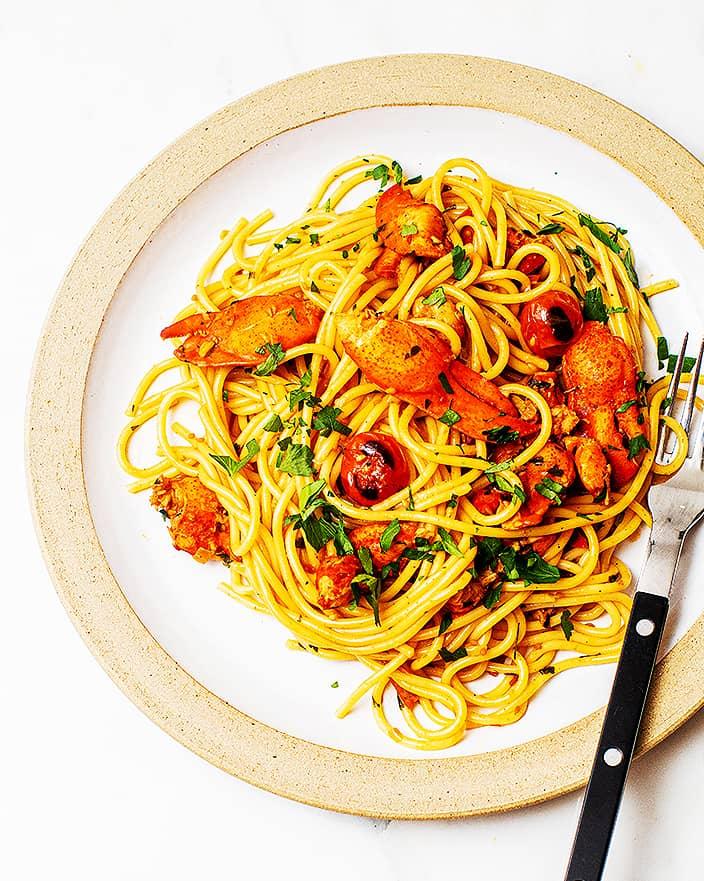 Spicy Lobster Pasta Recipe_MidPage