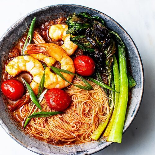 How to Make Spicy Thai Noodle Soup