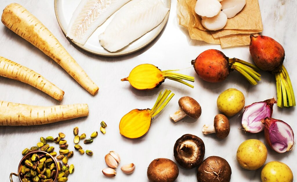 Scallops-with-Golden-Mushroom-Purée_MidPage-–-1