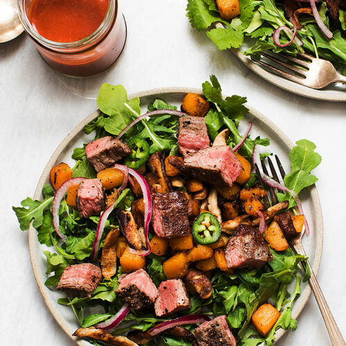 Flank Steak Salad with Gochujang Dressing_MidPage