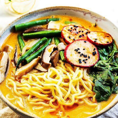 Vegan Radish Top Miso Ramen_MidPage – 1